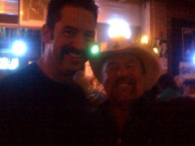 Me and Johnny Lee at Antones